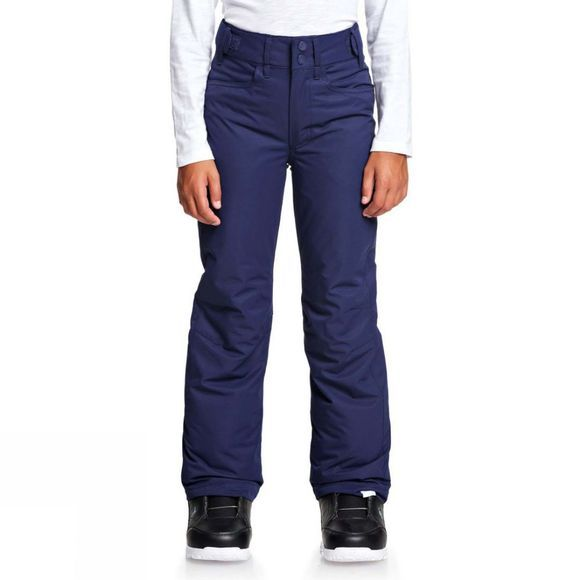 Roxy Girls Backyard Snow Pants  Medieval Blue