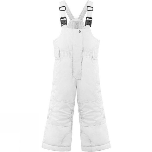 Poivre Blanc Girls Mini Bib Pant White