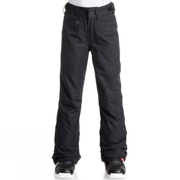 Roxy Girls Backyard Snow Pants True Black