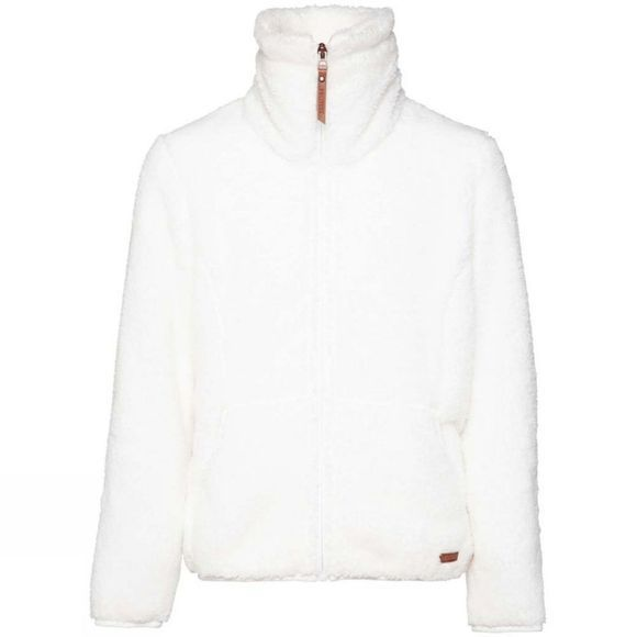 Protest Girl's Riri Jr Full Zip Fleece 14+ Seashell