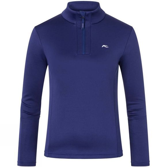 KJUS Girl's Jade Half Zip Fleece Into The Blue