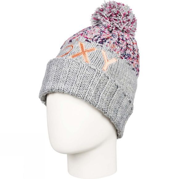 Roxy Girls Alyeska Beanie Heather Grey