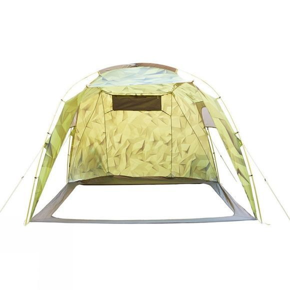 The North Face Homestead Roomy 2 Green Low Poly Print