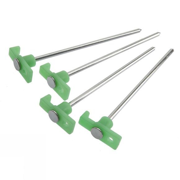 Blue Mountain Luminous Head Tent Peg x 4 .