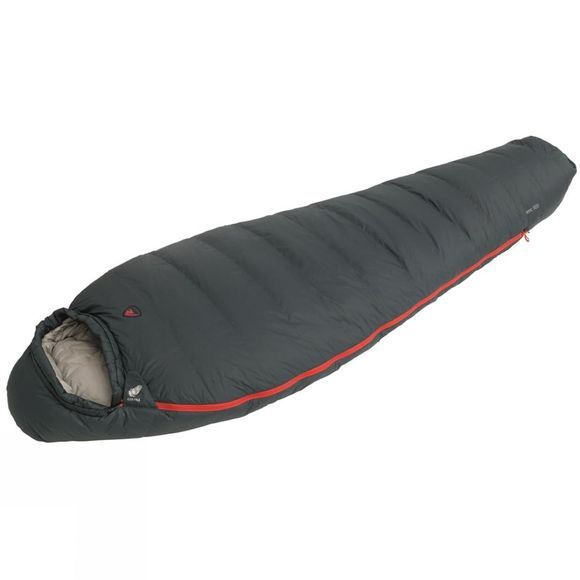 Robens Serac 600 Sleeping Bag Black/Grey