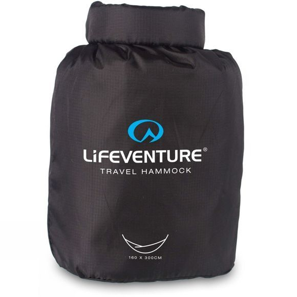 Lifeventure SleepLight Hammock Black