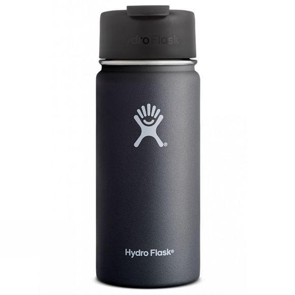Hydro Flask Wide Mouth 16oz with Flip Lid Black