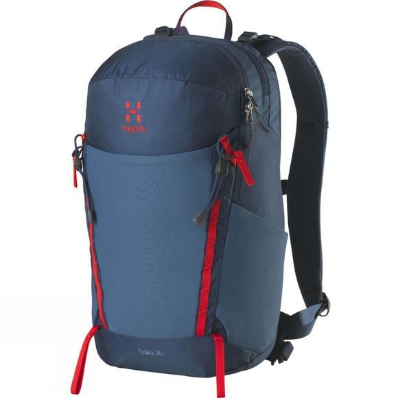 Haglofs Spira 20 Rucksack Blue Ink/Pop Red