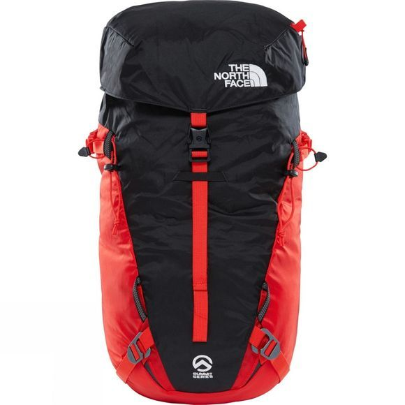 The North Face Verto 18 Backpack Fiery Red/TNF Black