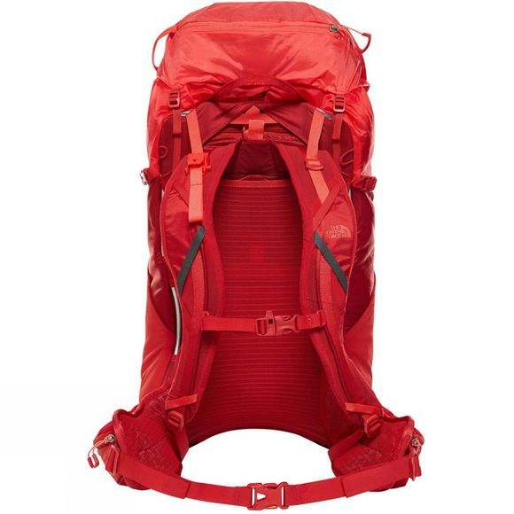 The North Face Womens Hydra 38 RC Backpack Pompeian Red/Juicy Red