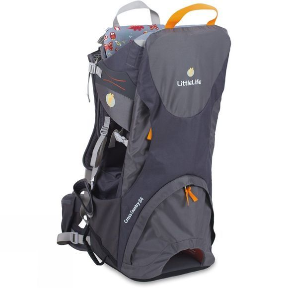 LittleLife Cross Country S3 Child Carrier Grey/Orange