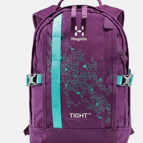 Haglofs Junior Tight 8 Backpack Purple Crush/Crystal