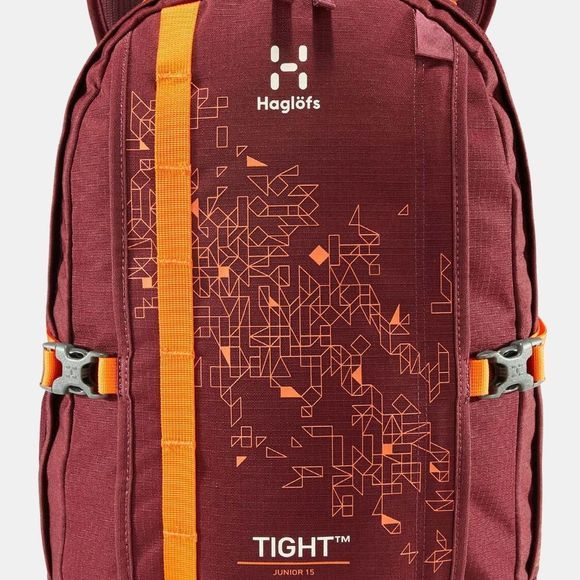 Haglofs Junior Tight 15 Backpack Aubergine/Cayenne