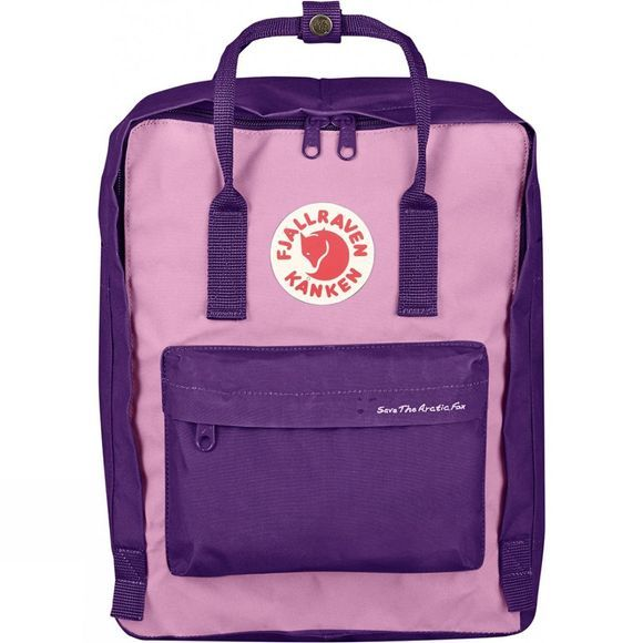 Fjallraven Kånken Save the Artic Fox Rucksack Purple/Orchid