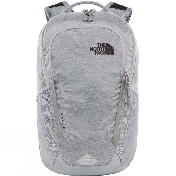 The North Face Vault Rucksack Mid Grey Dark Heather/TNF Black