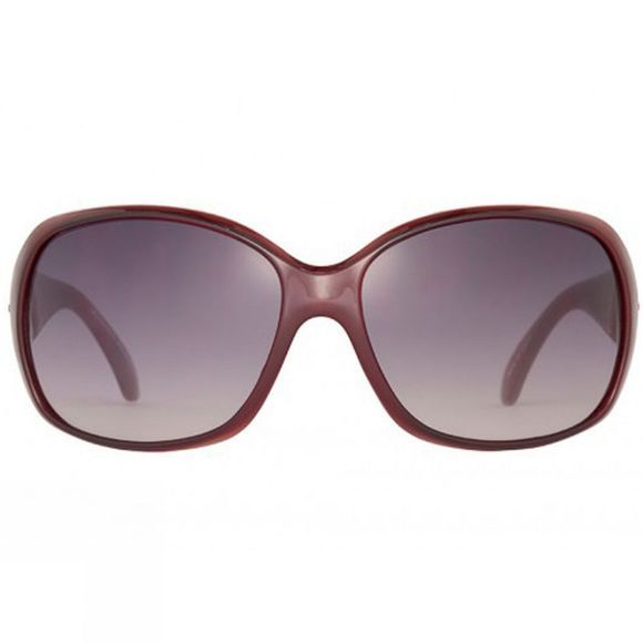 Sinner Amos Sunglasses Wine Red/Gradient Smoke