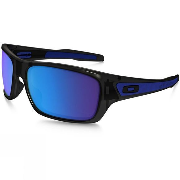 Oakley Turbine Sunglasses Black Ink w/ Sapphire Iridium
