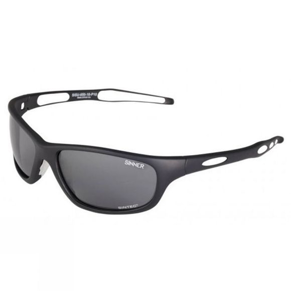 Sinner Richard Polarised  Matt Black/Smoke