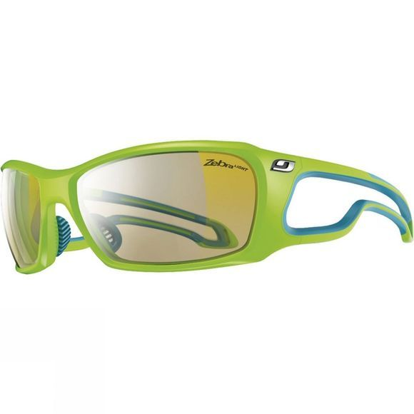 Julbo Pipeline Zebra Light Sunglasses Green/Blue