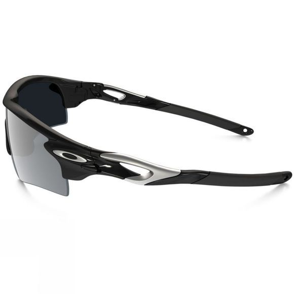 Oakley Radarlock Path Sunglasses Polished Black w/ Black Iridium & VR28