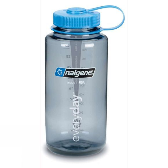 Nalgene Wide Mouth Tritan 1.0Litre Mid Grey