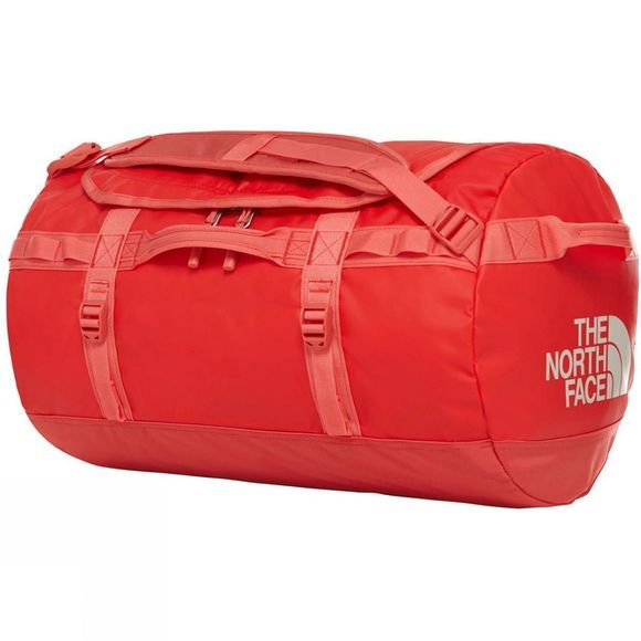The North Face Base Camp Duffel - S Juicy Red/Spiced Coral
