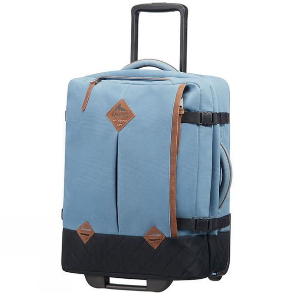 Gregory Duffle on Wheels S² Denim Blue