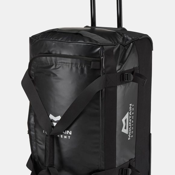 Mountain Equipment Roller Kit Bag 100L Black/Black/Silver