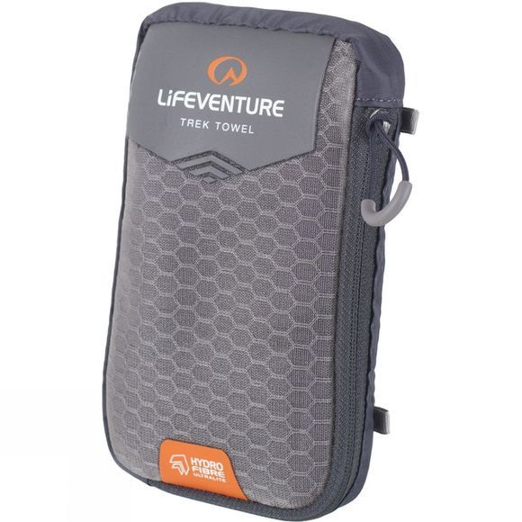 Lifeventure Hydrofibre Ultralite Towel Large Grey