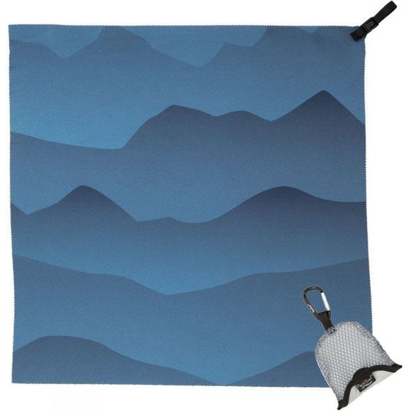 PackTowl Nano Towel Mountains Blue Mountains