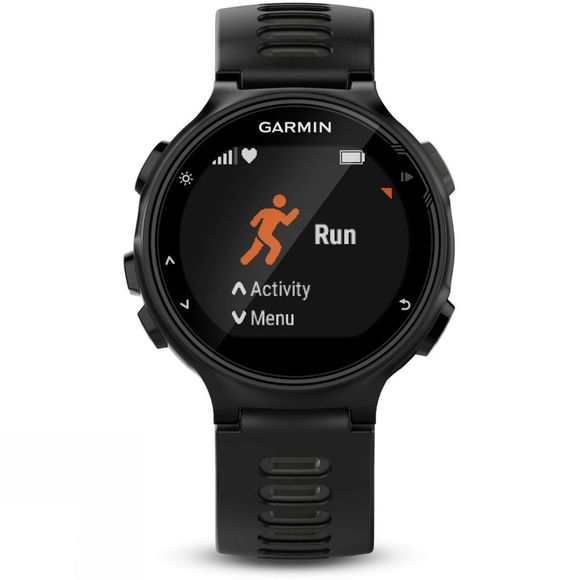 Garmin Forerunner 735XT Running Watch with Heart Rate Monitor  Black/Grey