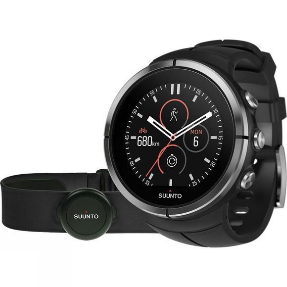 Suunto Spartan Ultra HR GPS Watch Black