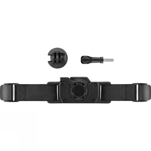 Garmin Vented Helmet Strap Mount Black