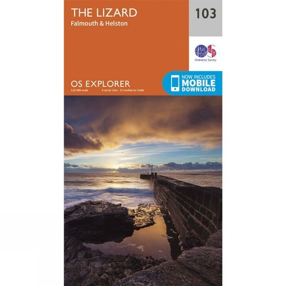 Explorer Map 103 The Lizard