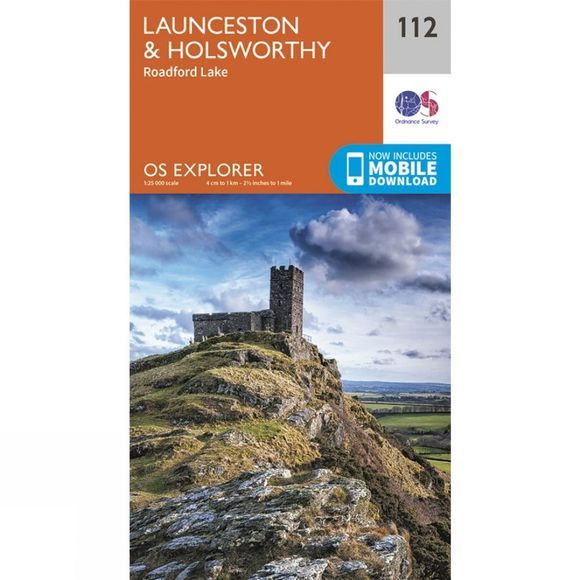 Explorer Map 112 Launceston and Holsworthy
