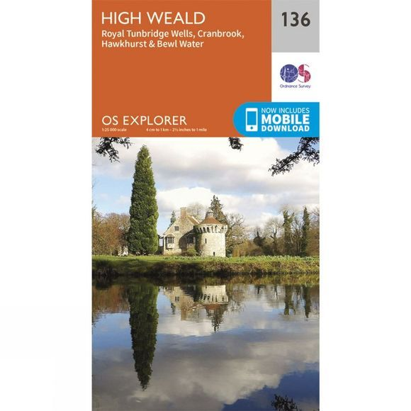 Explorer Map 136 High Weald