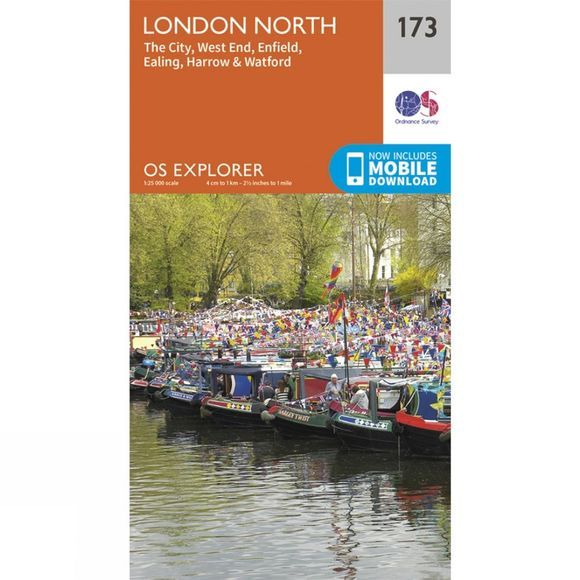 Explorer Map 173 London North