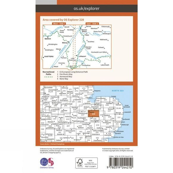 Explorer Map 228 March and Ely
