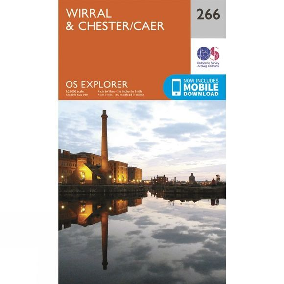 Ordnance Survey Wirral And Chester V15