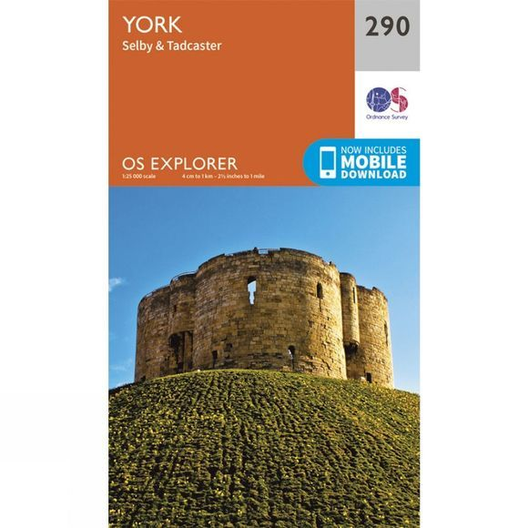 Explorer Map 290 York