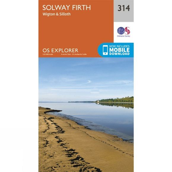 Explorer Map 314 Solway Firth