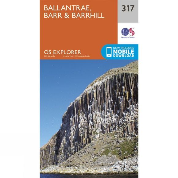 Explorer Map 317 Ballantrae, Barr and Barrhill