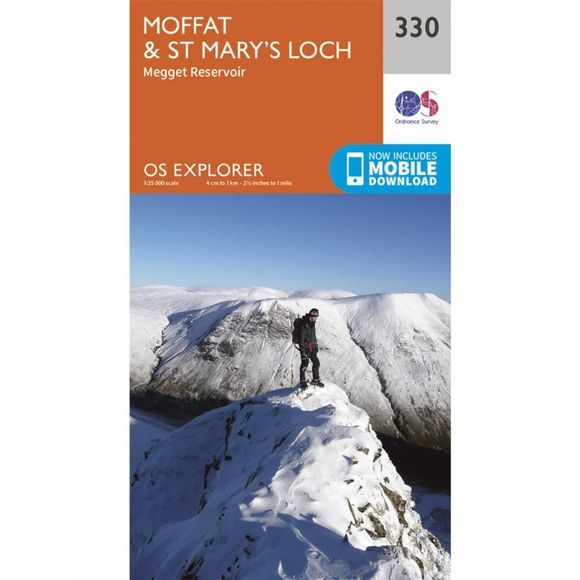 Explorer Map 330 Moffat and St Mary's Loch