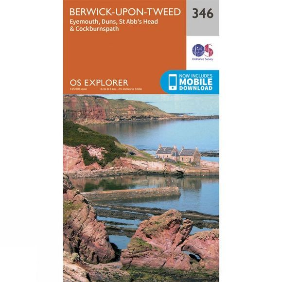 Explorer Map 346 Berwick-upon-Tweed