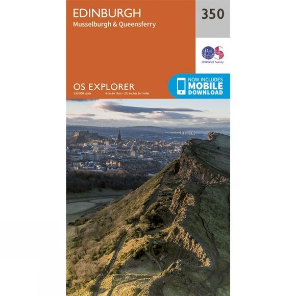 Explorer Map 350 Edinburgh