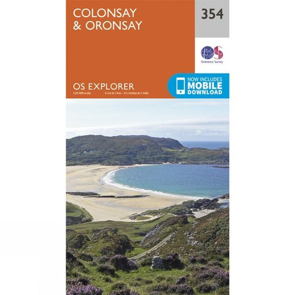 Explorer Map 354 Colonsay and Oronsay