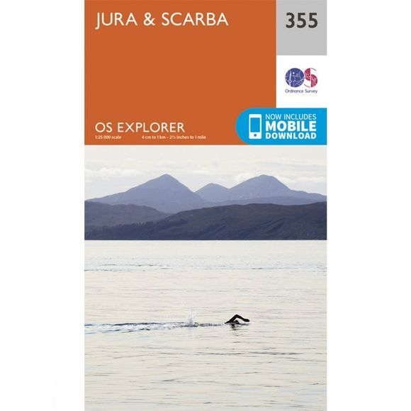 Explorer Map 355 Jura and Scarba
