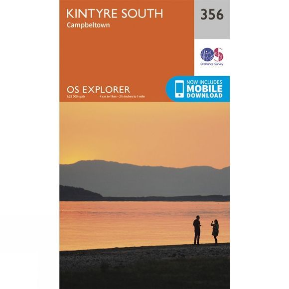 Explorer Map 356 Kintyre South