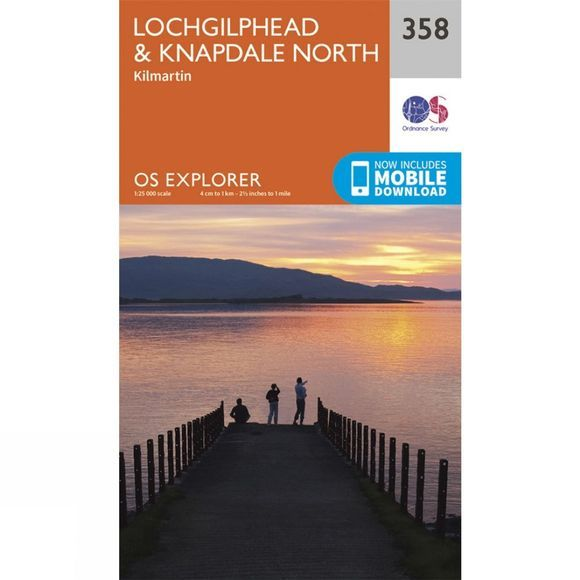 Explorer Map 358 Lochgilphead and Knapdale North