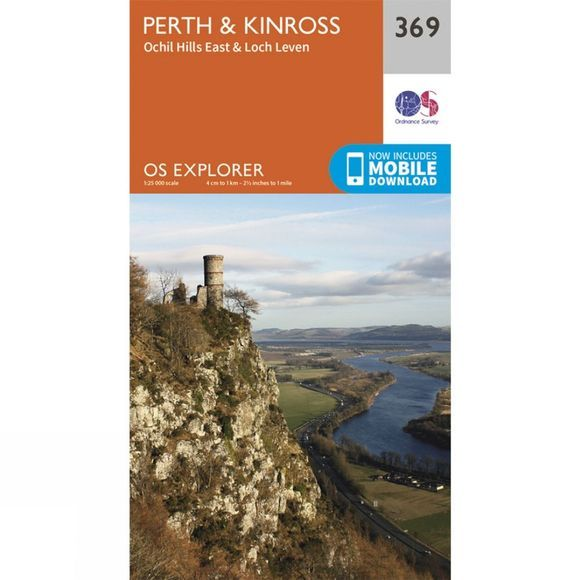 Explorer Map 369 Perth and Kinross